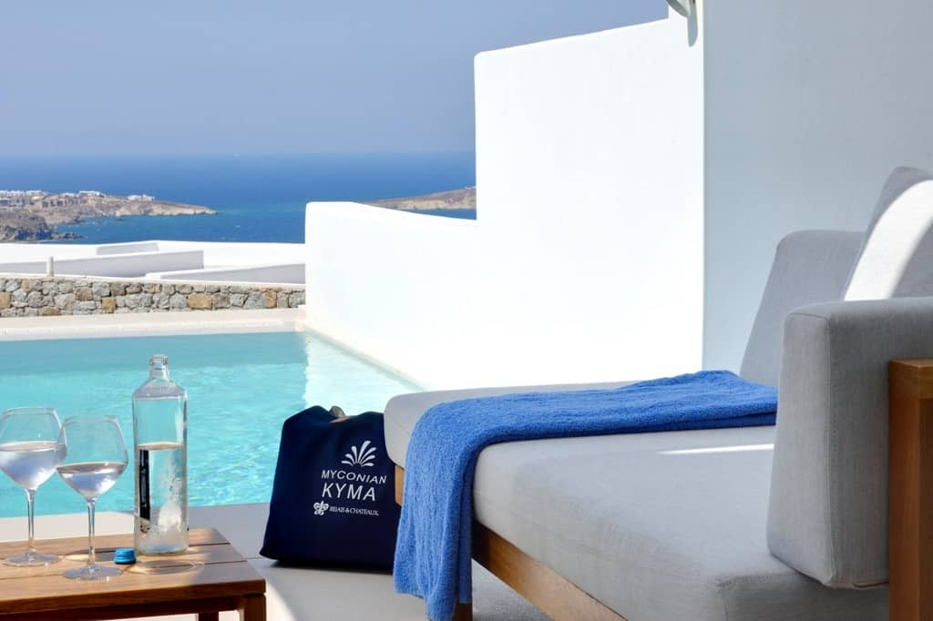 best Mykonos hotels with private pool