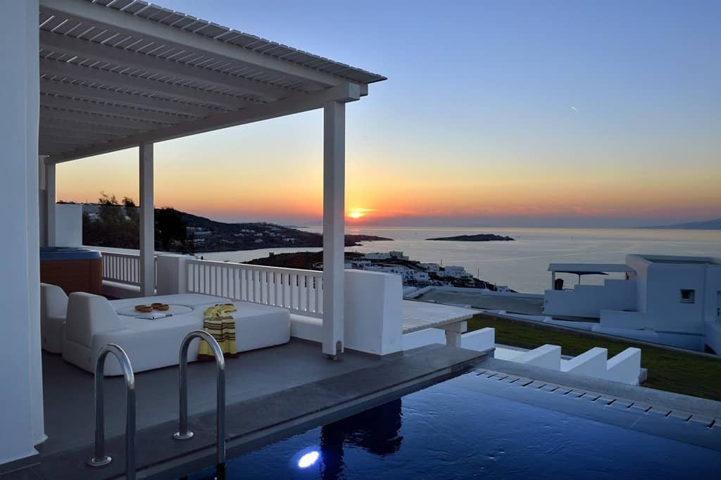 Mykonos hotels with private pools