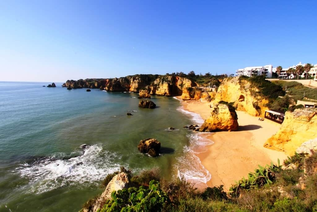 The Praia Dona Ana, Algarve, Portugal-Best Mediterranean Beaches