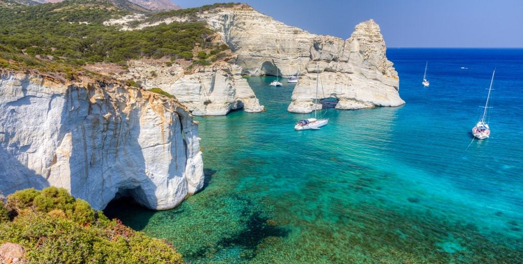 Kleftiko -The Best Milos Beaches