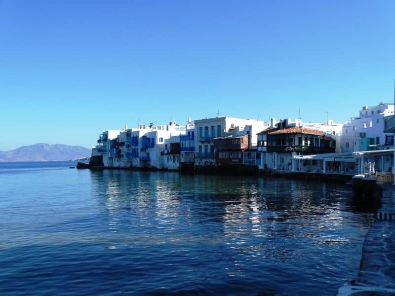 Little Venice- What do to in Mykonos in 3 days