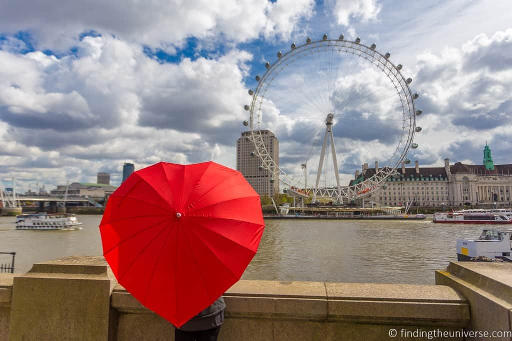 London - The most romatic places in Europe