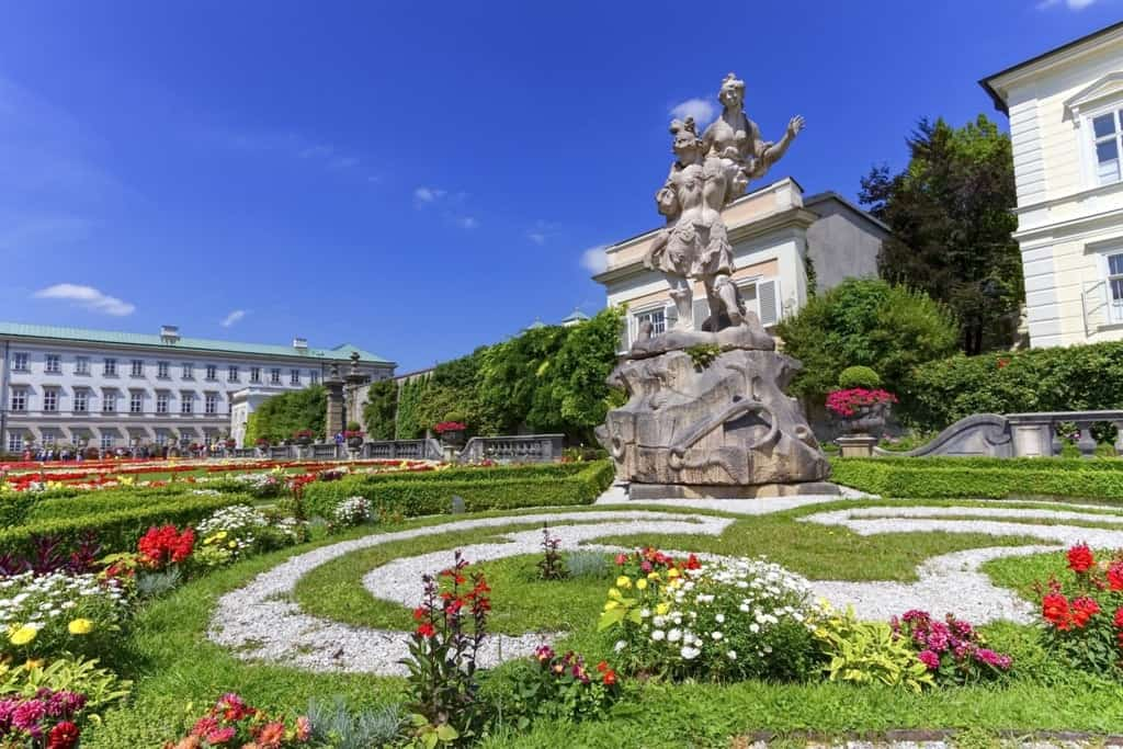 Mirabell palace and garden -one day in Salzburg