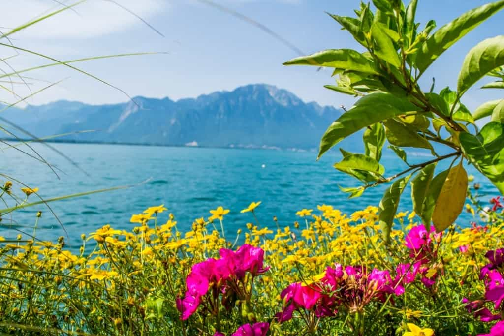 Montreux, Switzerland -The most romatic places in Europe