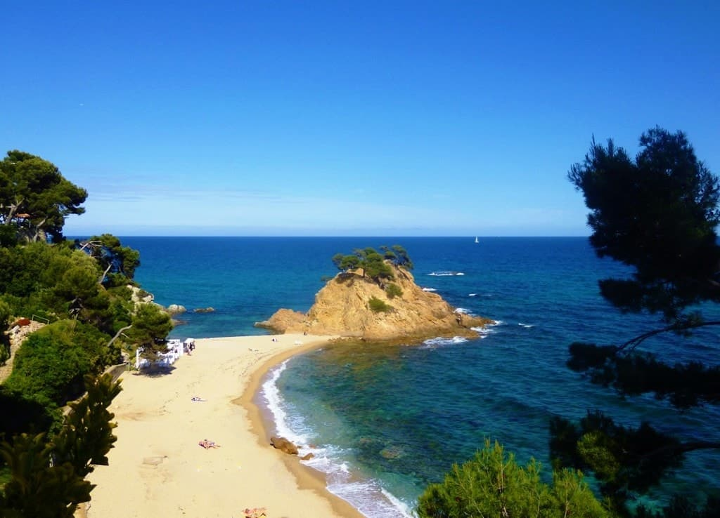 Cala Cap Roig near Platja D'Aro, Costa Brava -The Best Mediterranean Beaches