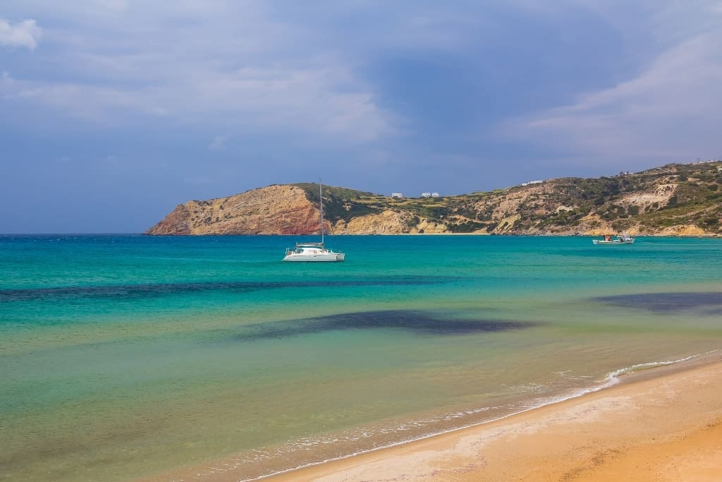 Provatas Beach The Best Milos Beaches