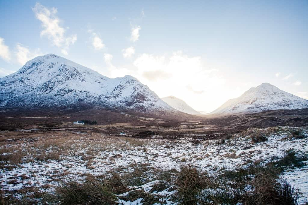 Glen Coe in Scotland -The most romatic places in Europe
