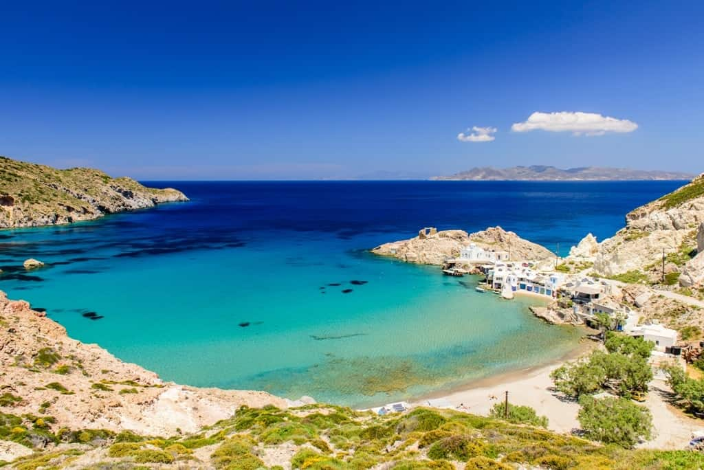 The Best Milos Beaches- Firopotamos Beach