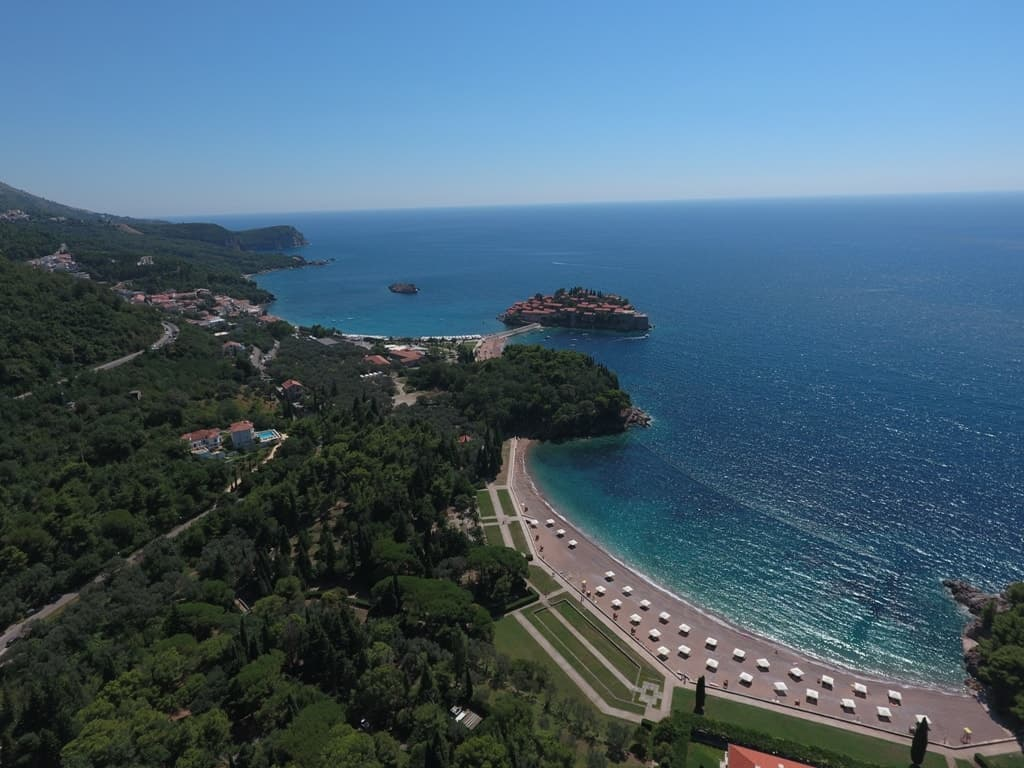 Sveti Stefan, Montenegro -The most romatic places in Europe