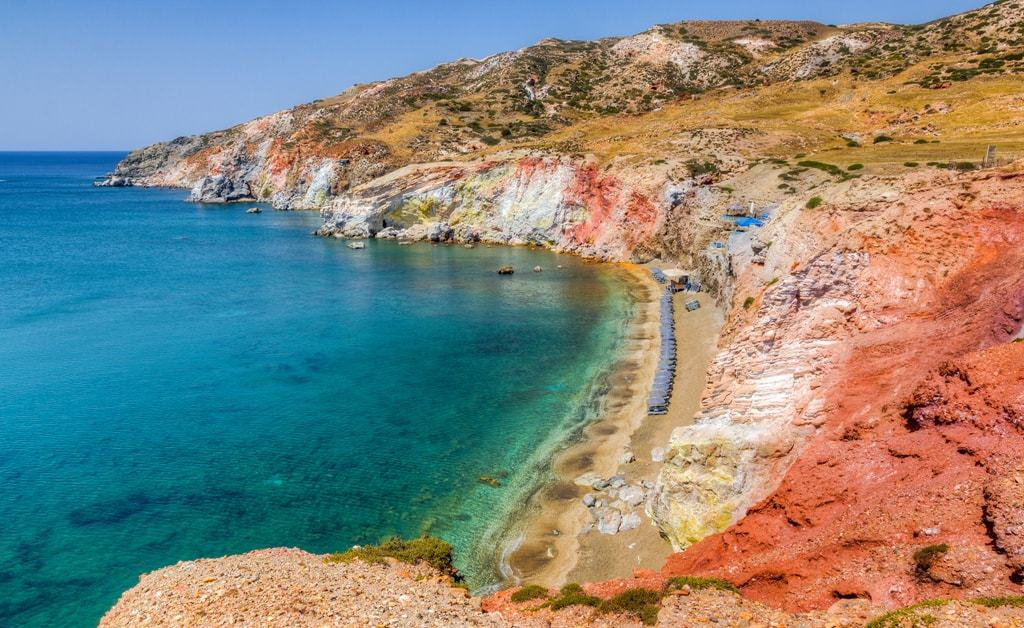 Paleochori Beach -The Best Milos Beaches