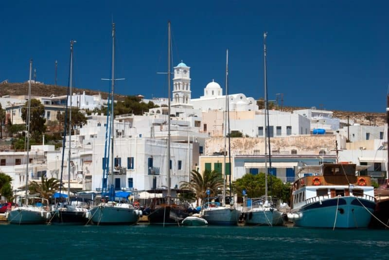 Where to stay in Milos - Adamas