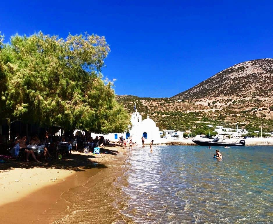 Vathy Beach, Sifnos, Greece -The Best Mediterranean Beaches