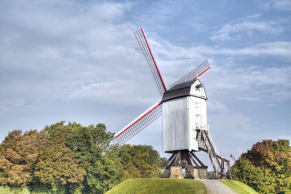windmills of Bruges - 2 days in Bruges