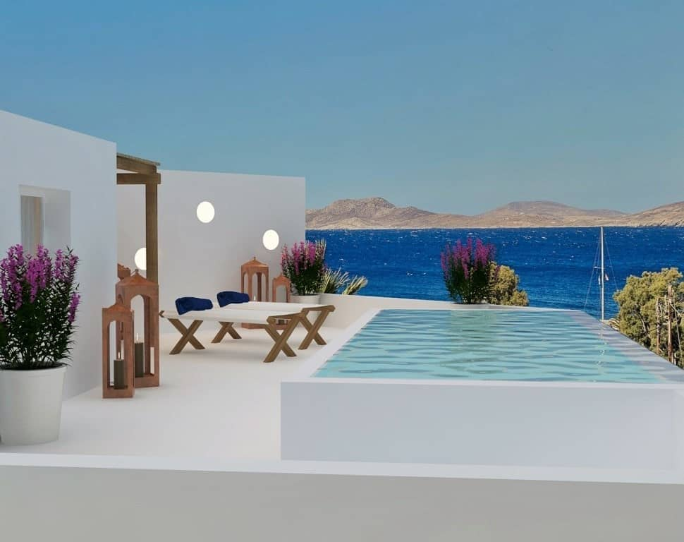 the best mykonos hotels with private pools. Black Bedroom Furniture Sets. Home Design Ideas