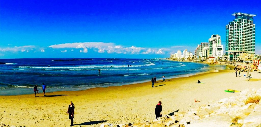 Tel Aviv, Israel -The Best Mediterranean Beaches
