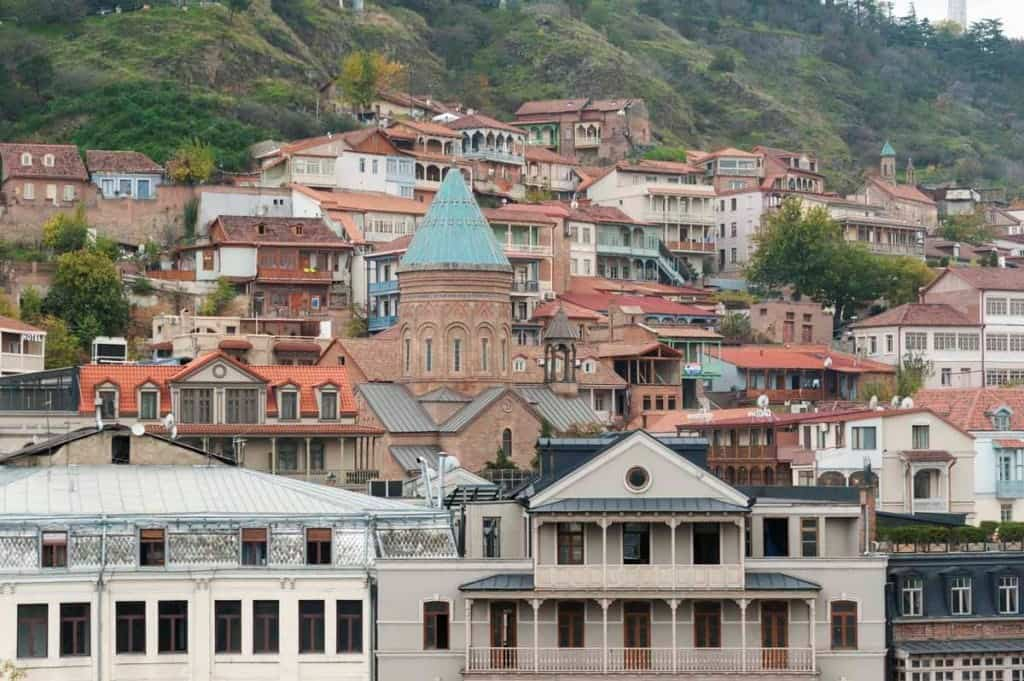 Tbilisi, Georgia -The most romatic places in Europe