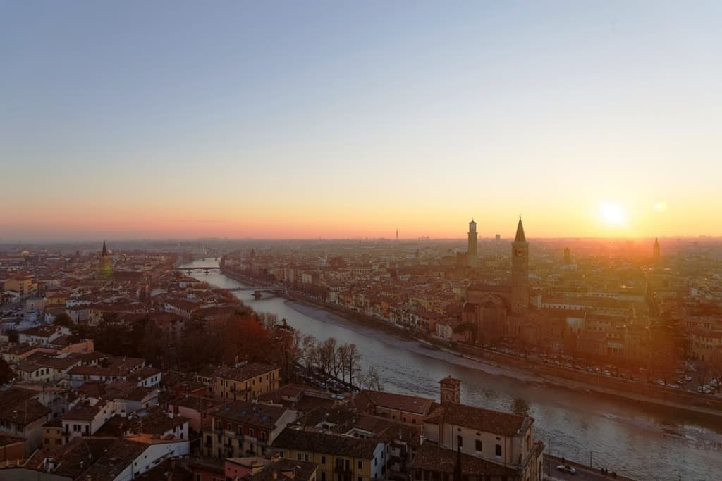 Verona, Italy -The most romatic places in Europe