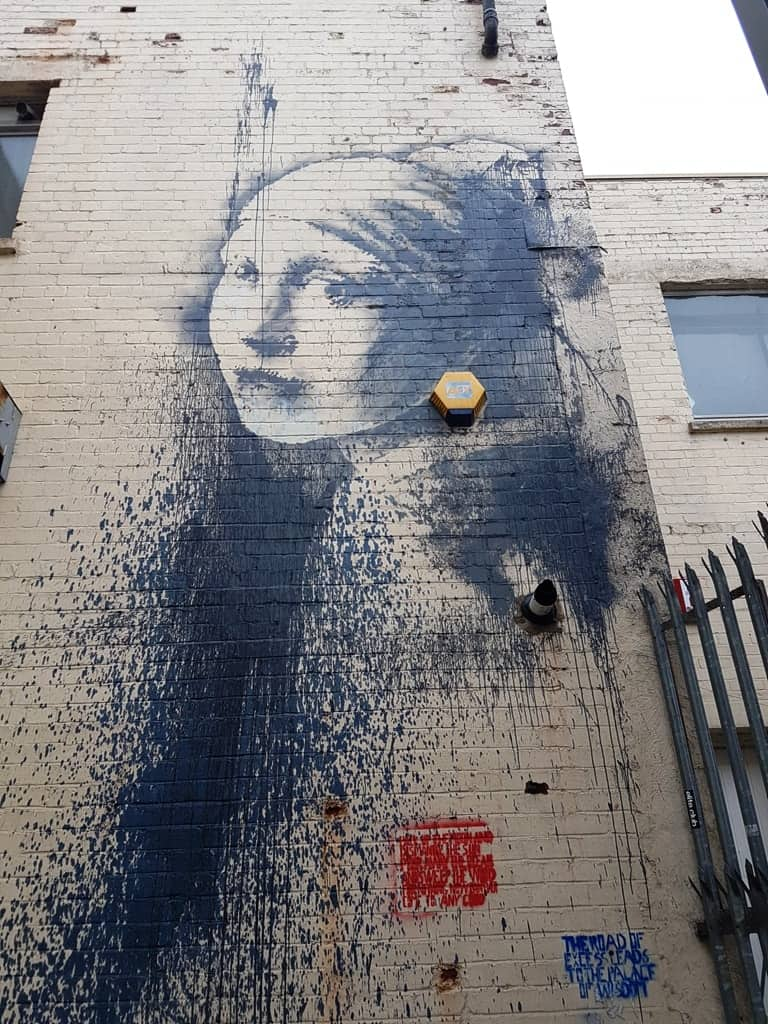 A weekend in Bristol - street art