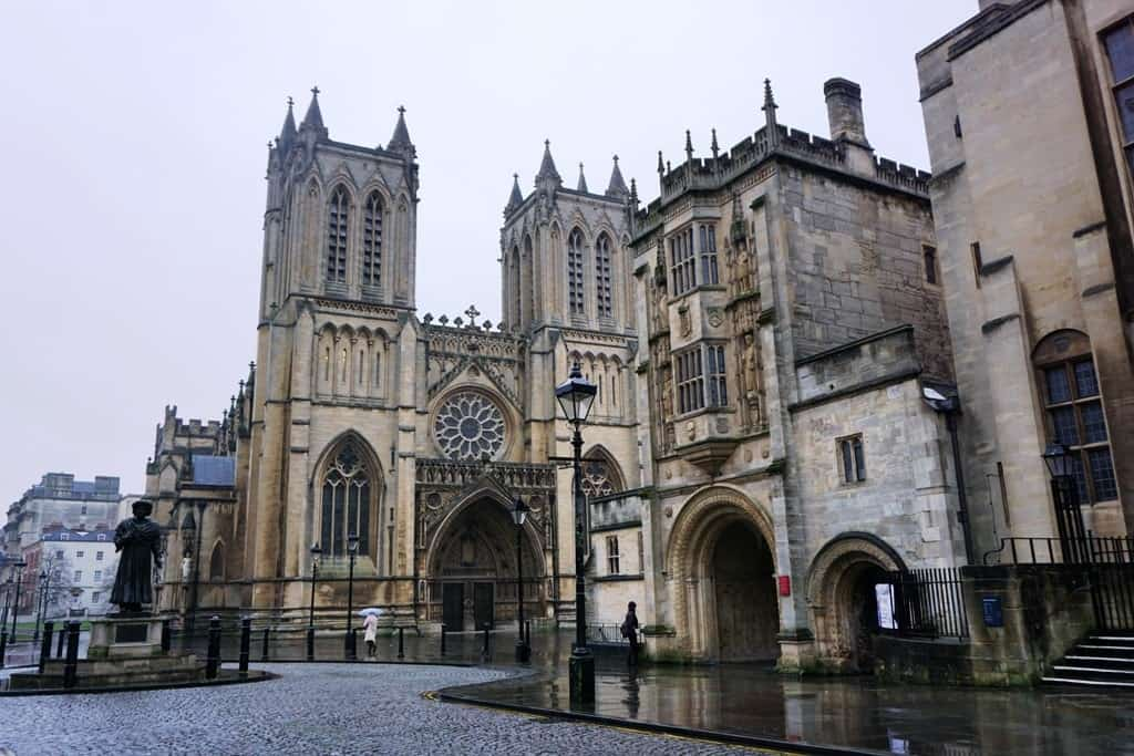 A weekend in Bristol - Cathedral