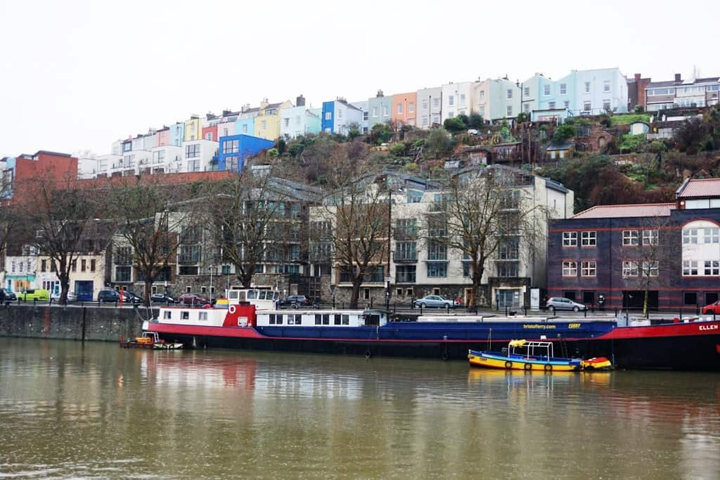 colour houses - Bristol