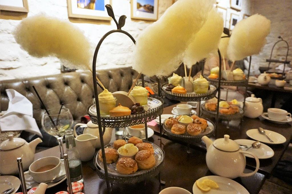 A weekend in Bristol - Hotel du Vin - afternoon tea