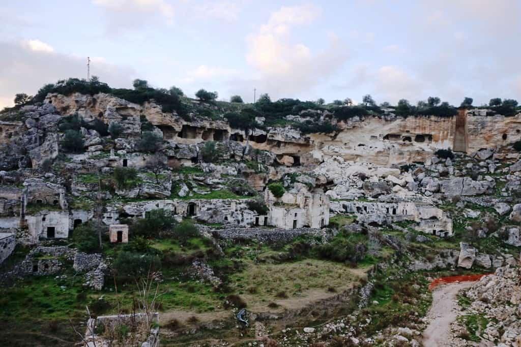 Gravine of Ginosa Italy