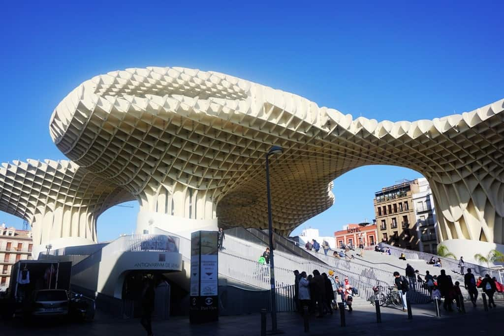 One Day in Seville - Las Setas