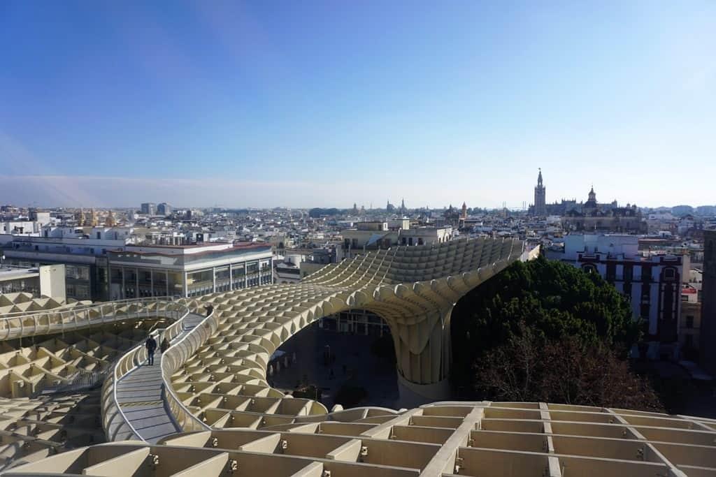 One Day in Seville - Las Setas