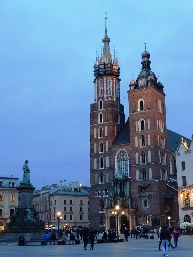 The Church of the Virgin Mary - what to do in krakow