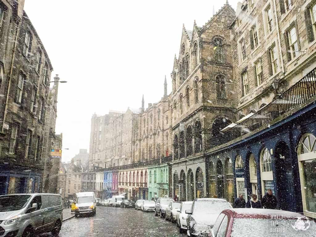 Edinburgh is one of the Best European cities to visit in winter