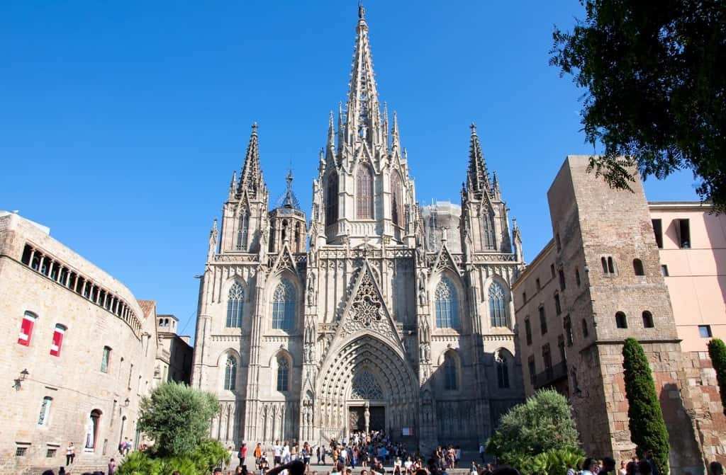 Barcelona Cathedral - ten days in Spain