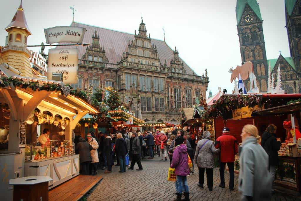 Bremen is one of the best Best European cities to visit in winter