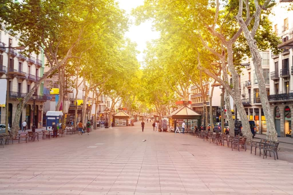 Las Ramblas - 10 day Spain itinerary