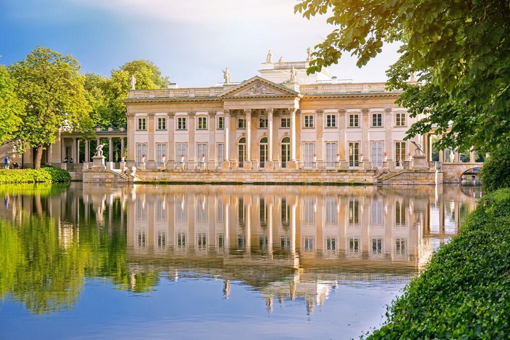 Lazienki Palace and Gardens