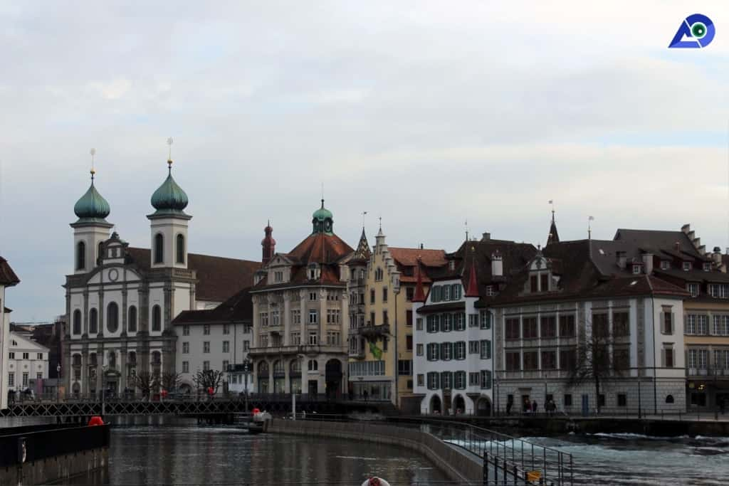 Lucerne- is great for a winter city break in Europe