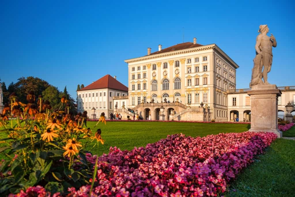 Nymphenburg castle - Three days in Munich