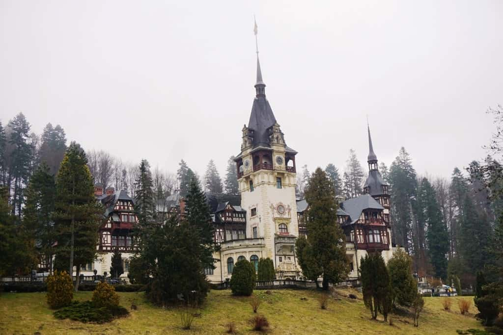 Day trip from Bucharest to Peles Castle
