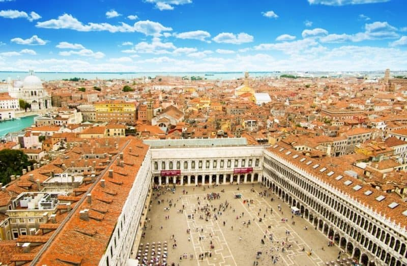 Piazza San Marko in Venice - 2 days in Venice
