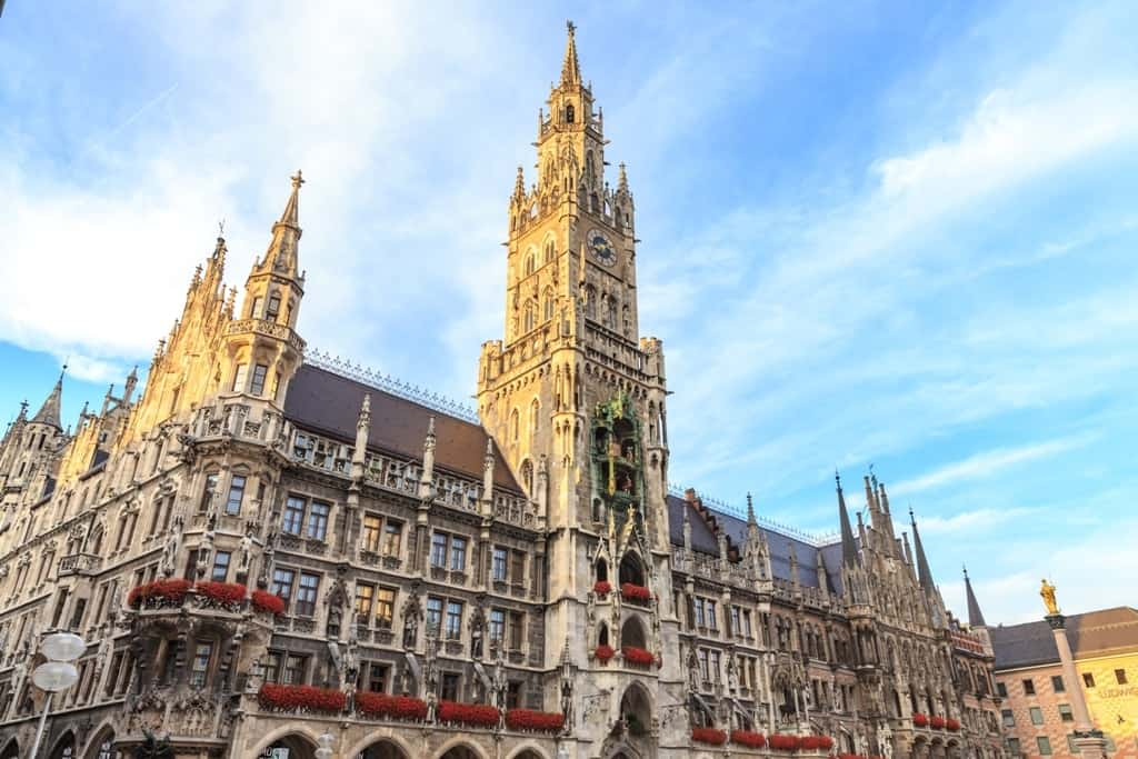 3 days in Munich - Marienplatz