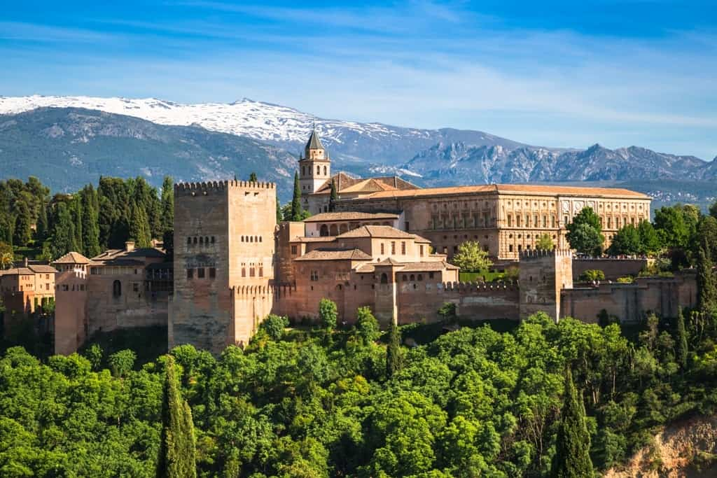 Alhambra, Granada - 10 days in Spain itinerary
