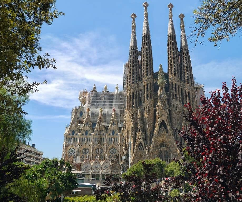 Sagrada Familia - 10 day Spanish itinerary