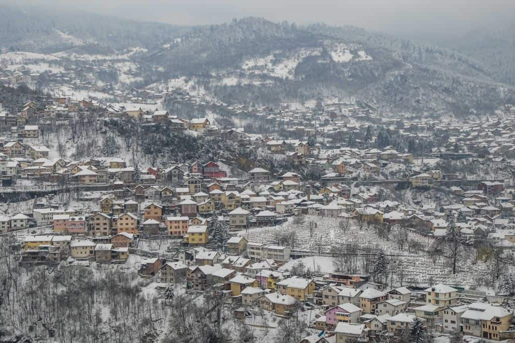 sarajevo - city in Europe perfect for a winter break