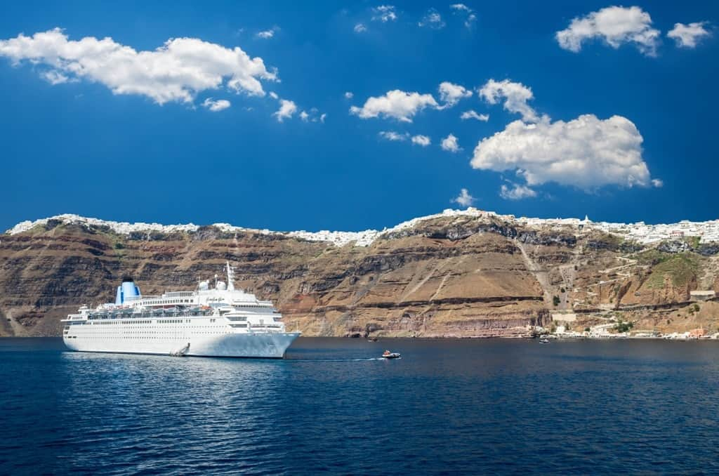 How To Get From Athens To Santorini By Ferry And Plane
