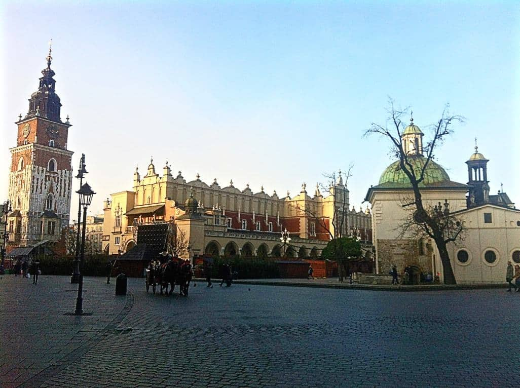 Krakow - Best European cities to visit in winter