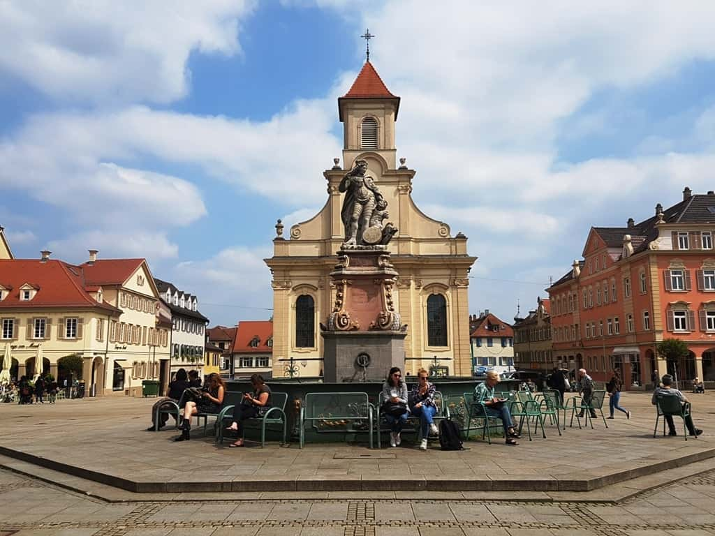 Ludwigsburg's main square