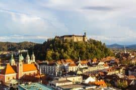 Ljubljana - city to travel in Eastern Europe