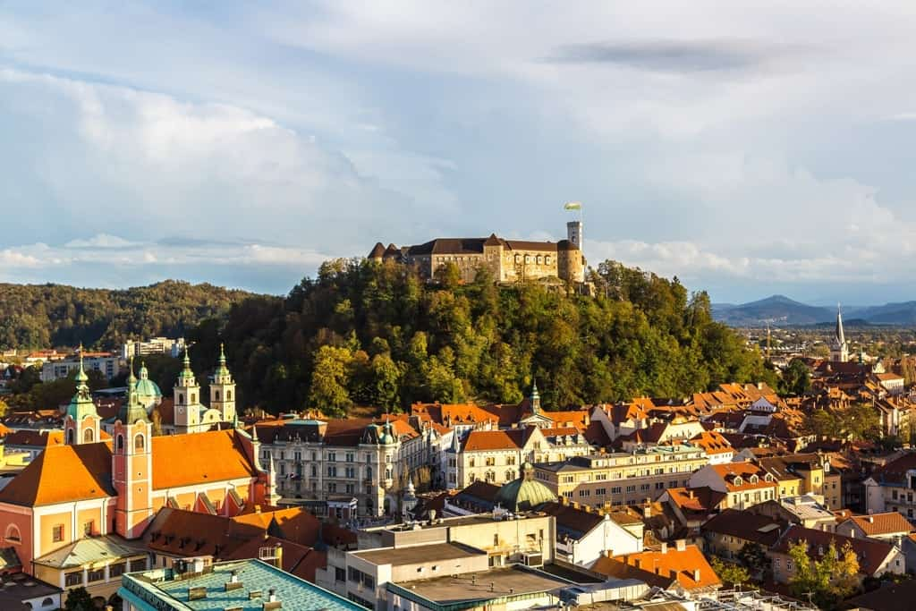 Ljubljana - city to travel in Eastern Europe
