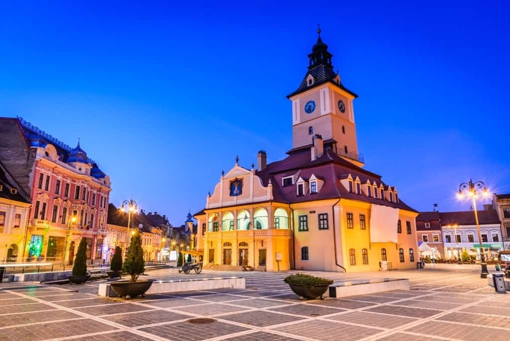 Brasov, Romania -best cities to visit in Eastern Europe