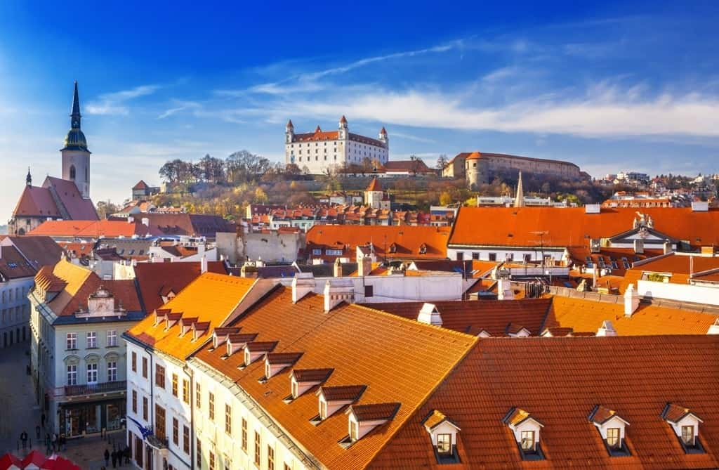 Bratislava -best cities to visit in Eastern Europe