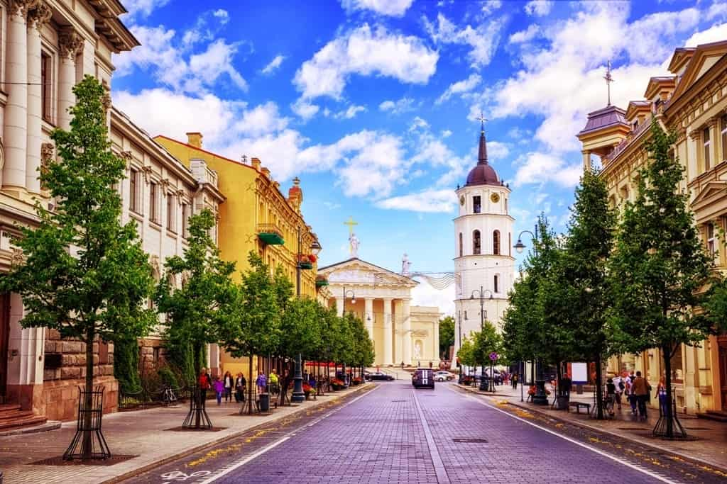 Vilnius -best cities to visit in Eastern Europe